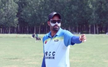 Syed Rasool Dynamic Agile and Upcoming Talent in the Game of Cricket of Kashmir Sonawari