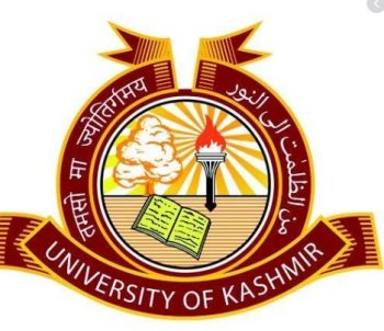 Kashmir University Jobs 2020 Latest Notification