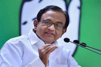 Chidambaram appreciated parties for joining hands to fight repeal of Article 370