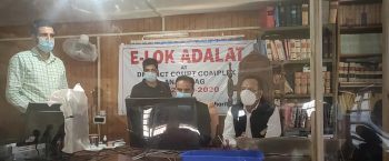 E-Lok Adalat held at District Anantnag