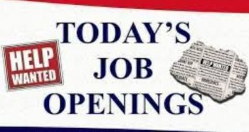New Job Opening Today Aug 2020
