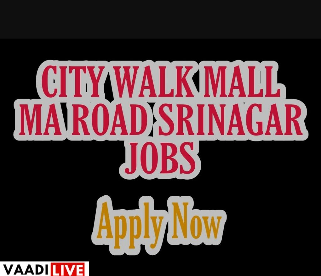 city walk mall ma road srinagar city walk mall srinagar location city walk mall srinagar owner City walk mall kashmir Jobs