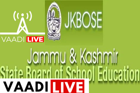 Revised Date Sheet of Class 12th Session 2020: JKBOSE