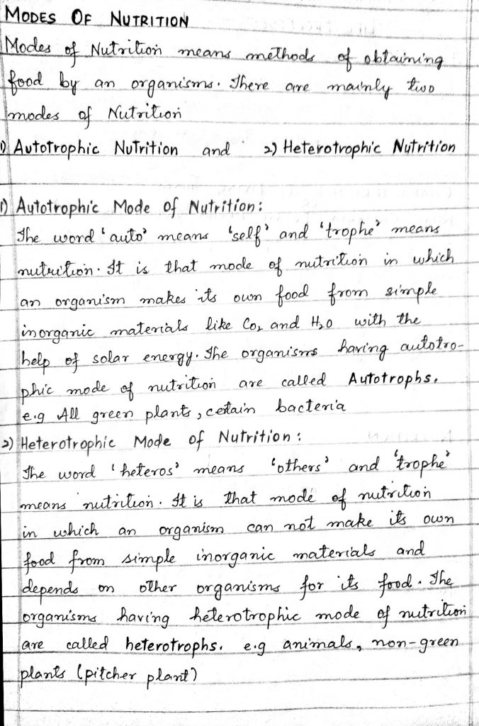 JKBOSE Class 10th Biology Notes Download PDF Science Chapters