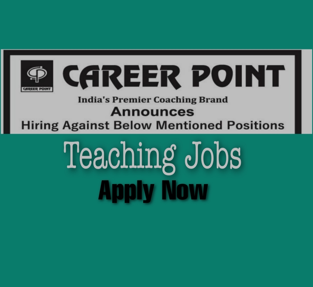Teaching jobs in Srinagar Kashmir Career point