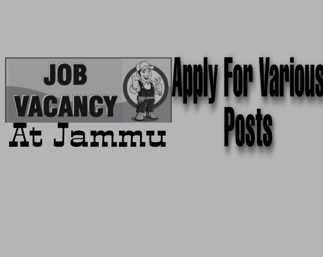 private job vacancy in jammu Tawise 2021