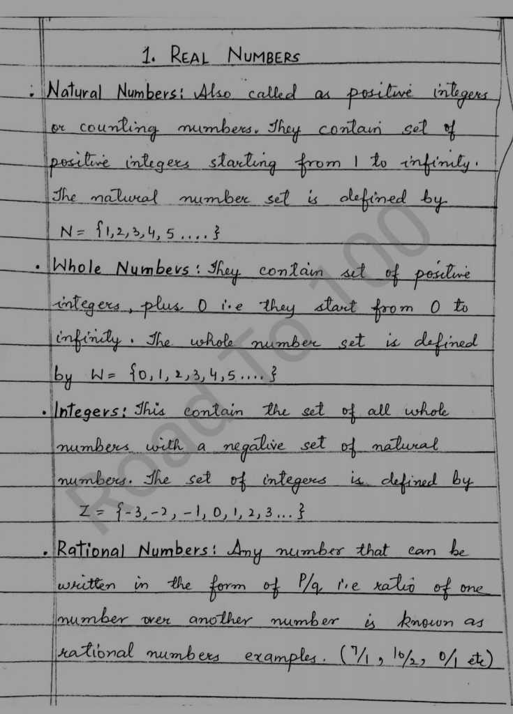 Jkbose class 10th Math Solutions Notes Chapters Latest syllabus Pdf
