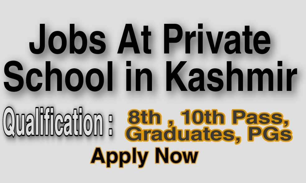 Teaching jobs in Baramulla Delina Private school jobs Job vacancy Novel public school