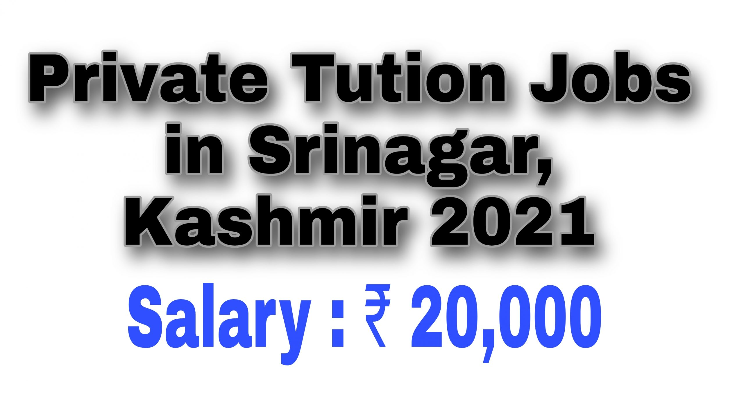 Home tution jobs in srinagar Private tution Jobs Near me Kashmir