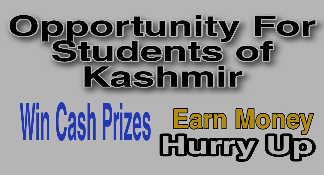 How to earn money in kashmir Online Students Make money 2021