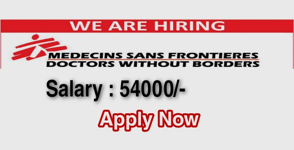Doctors Without Borders Kashmir jobs 2021 online apply available details new