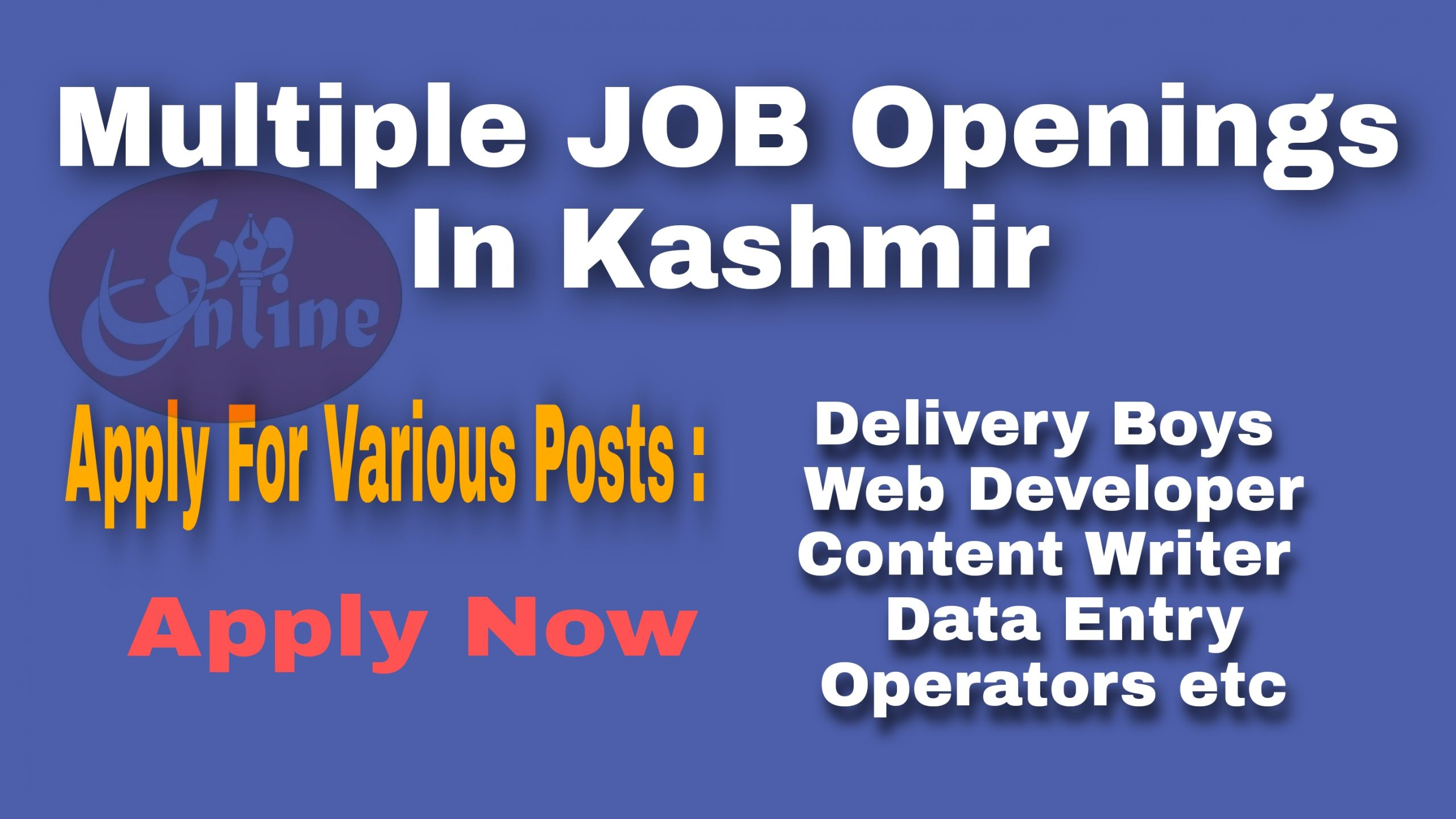fresh private company jobs in kashmir Latest 2021 data entry jobs