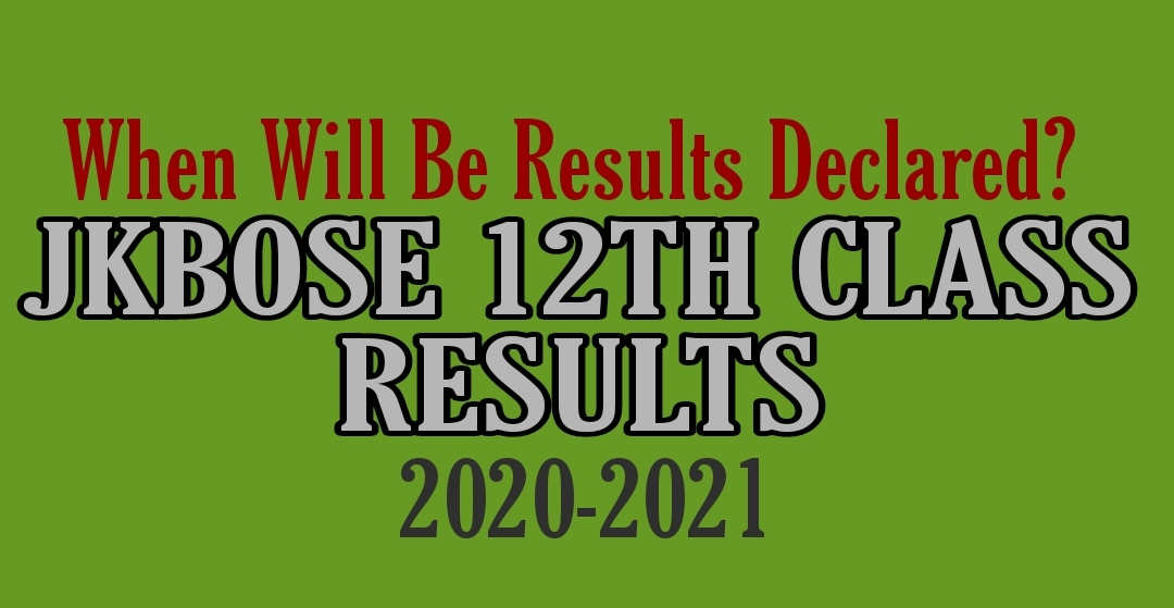 JKBOSE Class 12th Annual Result 2021 Kashmir Division Update declared date