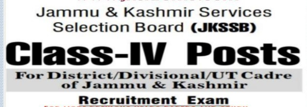 JKSSB General Science PDF Class IV Guide updated