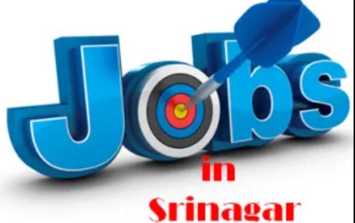 Latest Jobs in Srinagar 2021