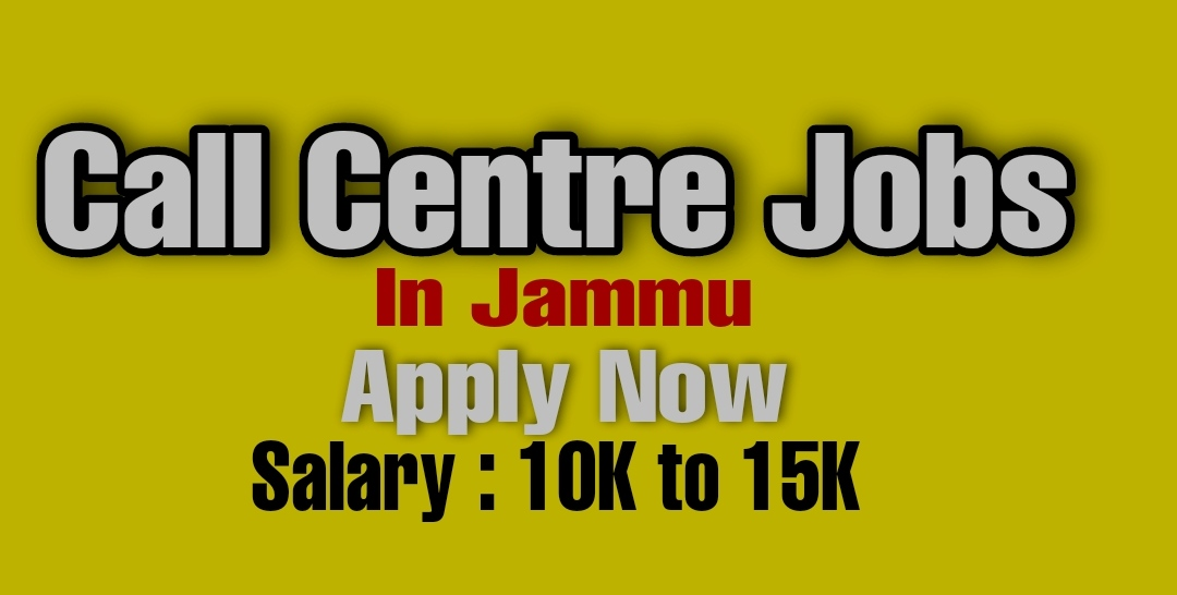 call centre jobs in jammu Female Private Part time jobs Candidates