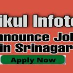 Software engineer jobs in Kashmir yarikul infotech Srinagar Rajbagh