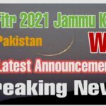 Kashmir Eid ul fitr 2021 date Latest news Jammu and Kashmir When Announced