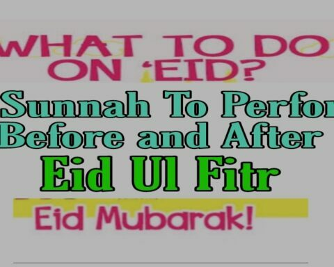 things to do on eid ul fitr Muslims Prayers Before After