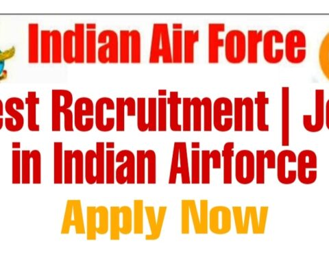 Indian Airforce jobs after graduation indian airforce job notification Females 12th Graduates