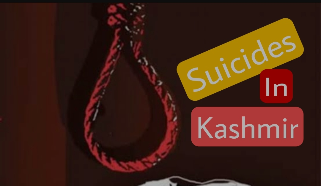 Suicide Kashmir Youth Teenagers hang
